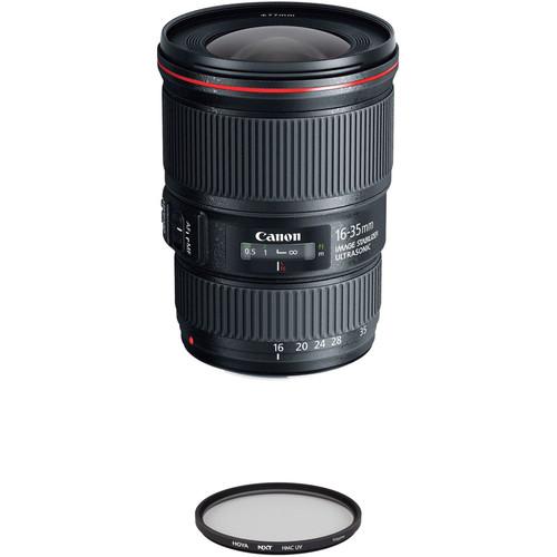 Canon EF 16-35mm f/4L IS USM Lens with UV Filter Kit