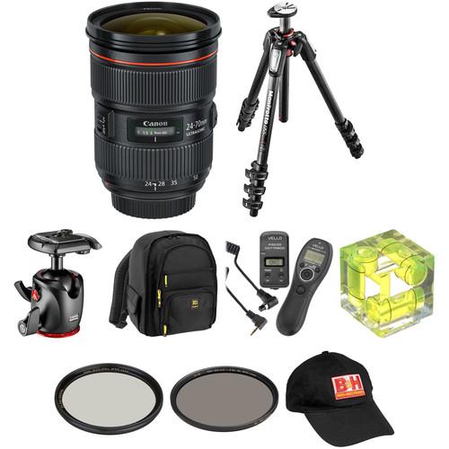 Canon EF 24-70mm f/2.8L II USM Lens Landscape Kit