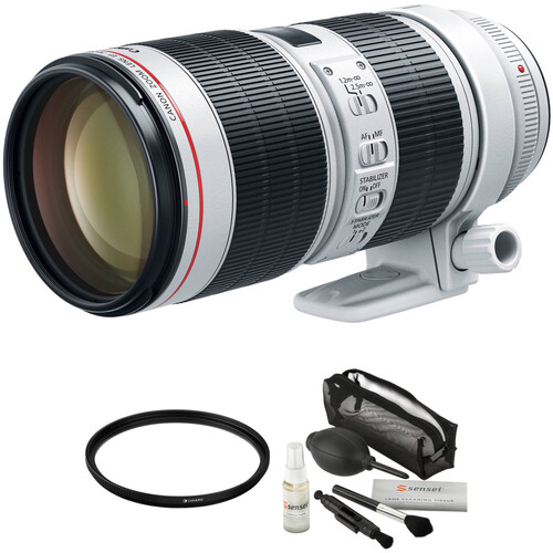 Canon EF 70-200mm f/2.8L IS III USM Lens with Accessories Kit