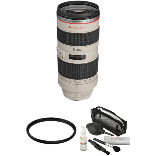 Canon EF 70-200mm f/2.8L USM Lens with Accessories Kit