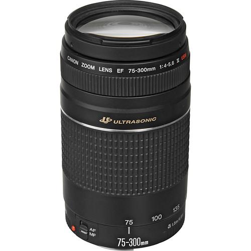 Canon EF 75-300mm f/4-5.6 III USM Lens Solar Eclipse Kit