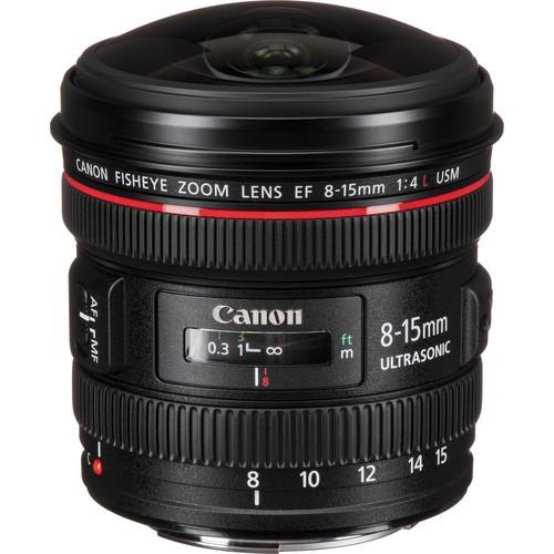 Canon EF 8-15mm f/4L Fisheye USM Lens