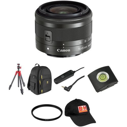 Canon EF-M 15-45mm f/3.5-6.3 IS STM Lens Landscape Kit