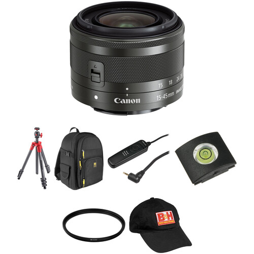 Canon EF-M 15-45mm f/3.5-6.3 IS STM Lens Landscape Kit