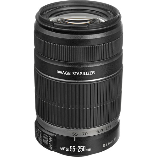Canon EF-S 55-250mm f/4-5.6 IS II Lens Solar Eclipse Kit