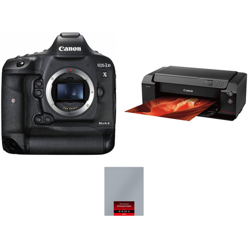 Canon EOS-1D X Mark II Camera Body with Inkjet Printer Kit