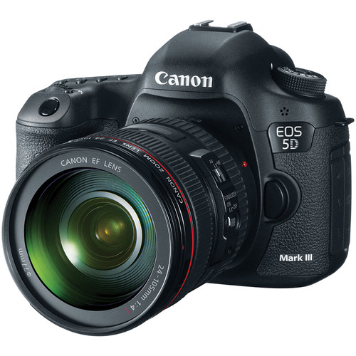 Canon EOS 5D Mark III DSLR Camera with 24-105mm Lens with Stabilizer Kit