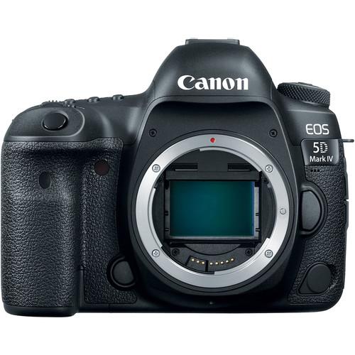 Canon 5D Mark IV EOS DSLR Camera (5D Mark IV Camera Body)