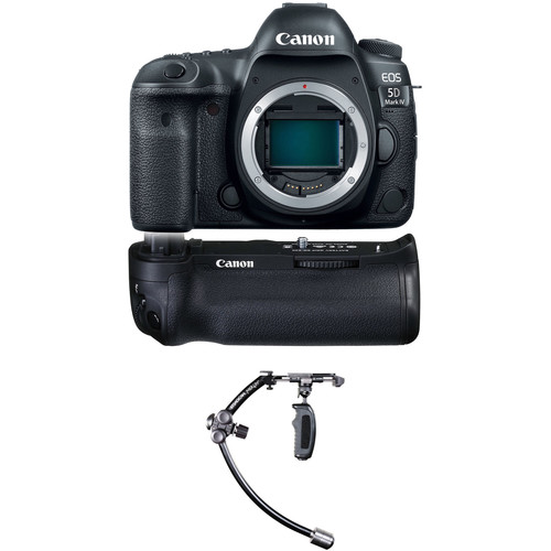 Canon EOS 5D Mark IV DSLR Camera Body with Stabilizer Kit