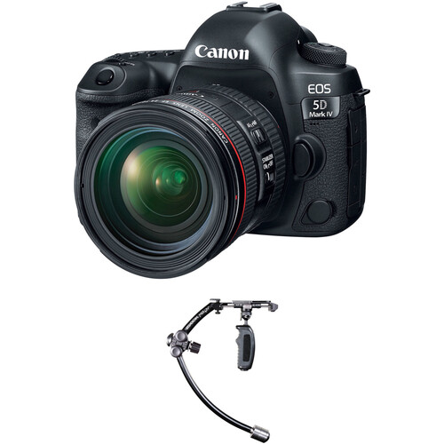 Canon EOS 5D Mark IV DSLR Camera with 24-70mm f/4L Lens with Stabilizer Kit