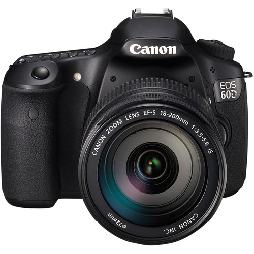 Canon EOS 60D Digital SLR Camera with 18-200mm Lens & Deluxe Accessory Kit