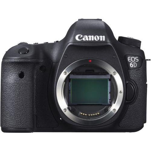 Canon EOS 6D DSLR Camera Body Basic Kit