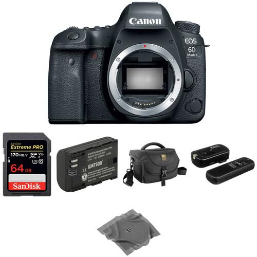 Canon EOS 6D Mark II DSLR Camera Body Basic Kit