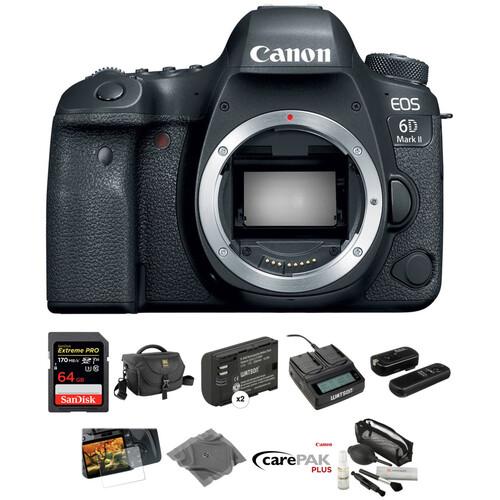Canon EOS 6D Mark II DSLR Camera Body Deluxe Kit