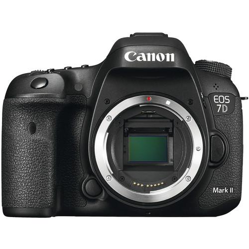 Canon EOS 7D Mark II DSLR Camera Body with Accessory Kit