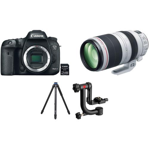 Canon EOS 7D Mark II with 100-400mm Lens Wildlife Kit
