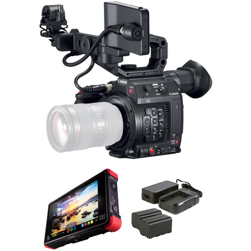Canon EOS C200 with Atomos Ninja Flame Kit