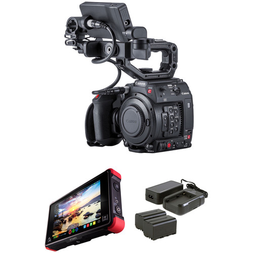 Canon EOS C200B Kit with Accessories and Atomos Ninja Flame