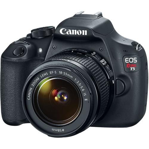 Canon EOS Rebel T5 DSLR Camera with 18-55mm Lens Basic Kit
