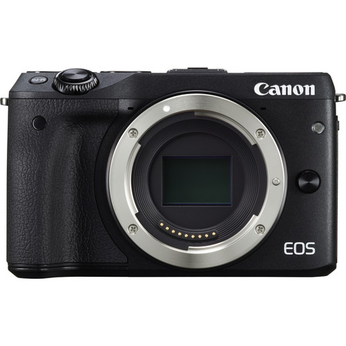 Canon EOS M3 Mirrorless Digital Camera with Accessory Kit (Body Only, Black)