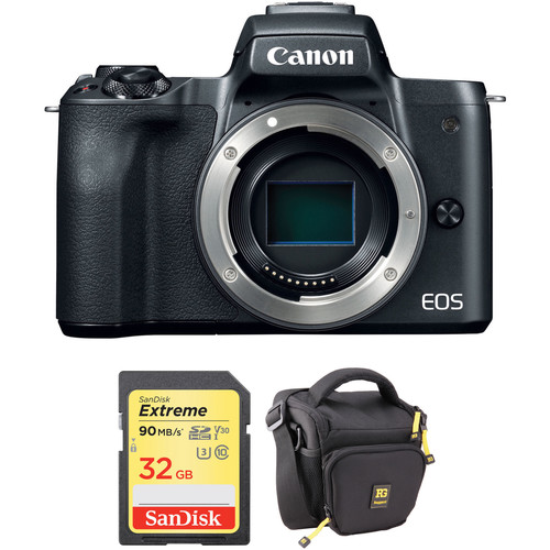 Canon EOS M50 with Memory Card Kit