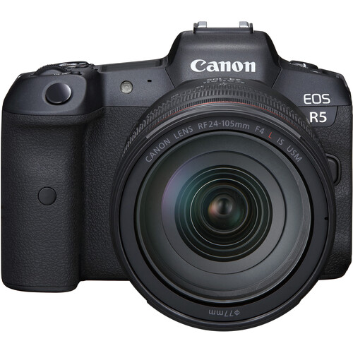 Canon EOS R5 Mirrorless Digital Camera with 24-105mm f/4L Lens