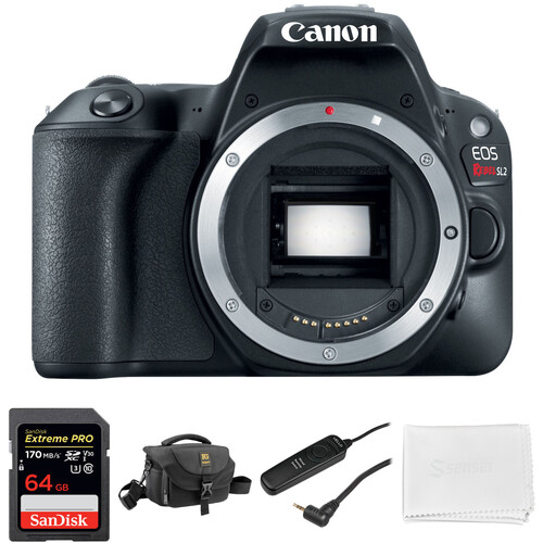 Canon EOS Rebel SL2 DSLR Camera Body Basic Kit