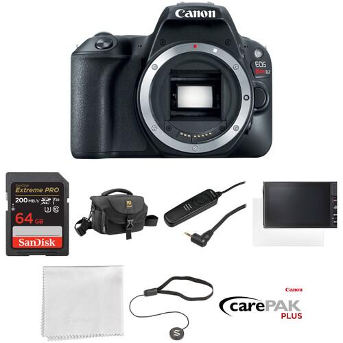 Canon EOS Rebel SL2 DSLR Camera Body Deluxe Kit