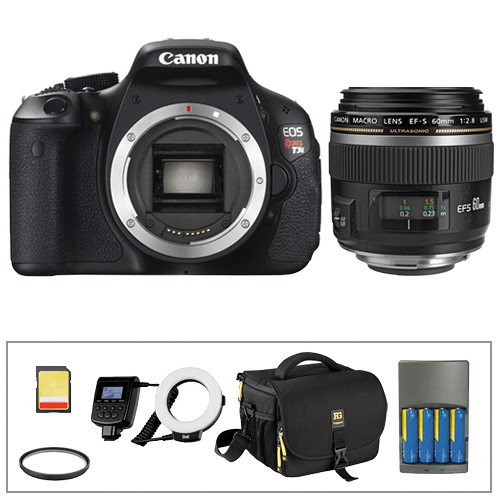 Canon EOS Rebel T3i DSLR Dental Kit