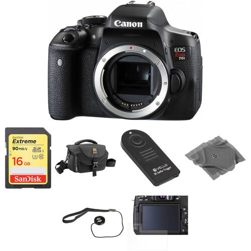Canon EOS Rebel T6i DSLR Camera Body Basic Kit