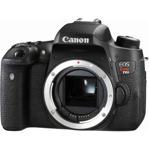 Canon EOS Rebel T6s DSLR Camera Body with Inkjet Printer Kit