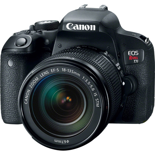 Canon EOS Rebel T7i DSLR Camera with 18-135mm and 55-250mm Lenses Kit