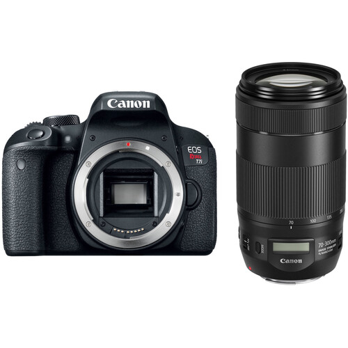 Canon EOS Rebel T7i with 70-300mm f/4-5.6 IS II Lens Wildlife Kit