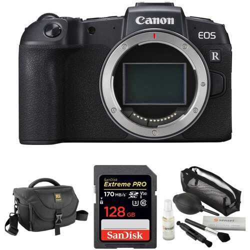 Eos Rp Mirrorless Digital Camera Body With Accessories Kit by Canon
