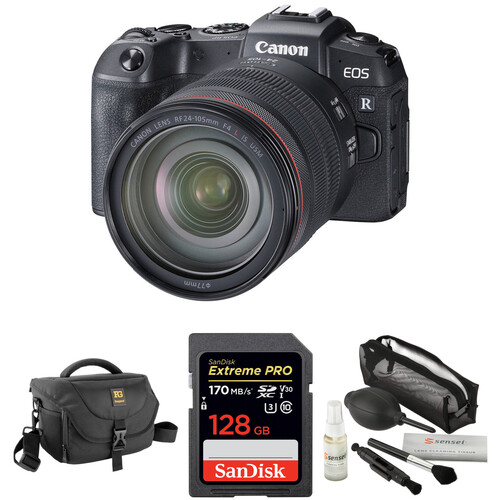 Canon EOS RP Mirrorless Digital Camera with 24-105mm Lens and Accessories Kit