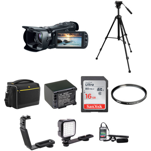 Canon 32GB VIXIA HF G20 Full HD Camcorder Advanced Kit