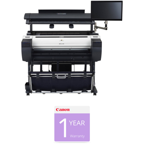 "Canon imagePROGRAF iPF785 36"" Multi-Function Large-Format Inkjet Printer with M40 Scanner & Installation & 1-Year Scan Warranty Kit"
