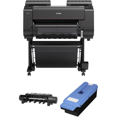 "Canon imagePROGRAF PRO-2000 24"" Large Format Printer Roll System Kit"