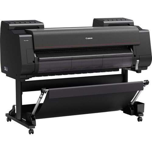 """Canon imagePROGRAF PRO-4000 44"""" Professional Photographic Large-Format Inkjet Printer with RU-41 Multifunction Roll System Kit"""