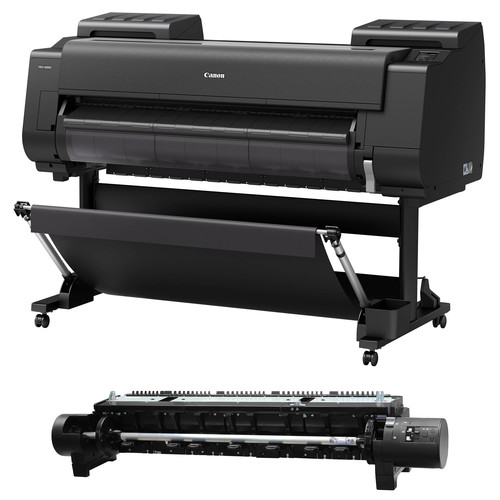 "Canon imagePROGRAF PRO-4000S 44"" Professional Production Signage Large-Format Inkjet Printer with Multifunction Roll System"