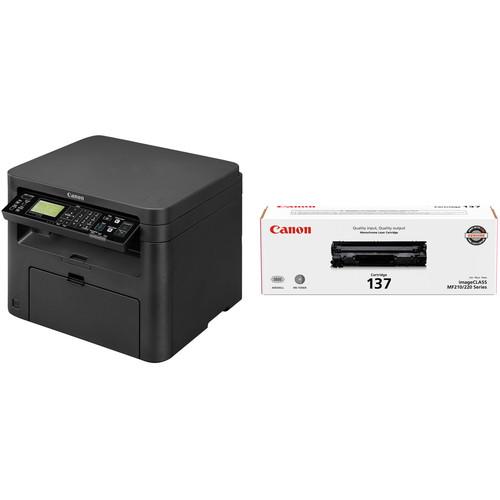 Canon imageCLASS D570 Monochrome Laser Printer with 137 Black Toner Cartridge Kit