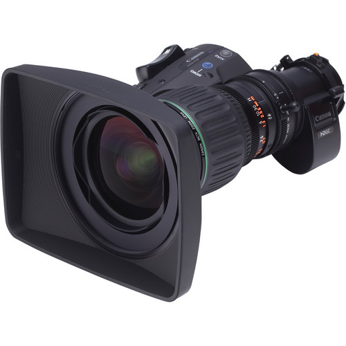 "Canon KJ10EX4.5B IRSD PS12, 2/3"" ENG/EFP Zoom Lens for Select Panasonic Cameras"