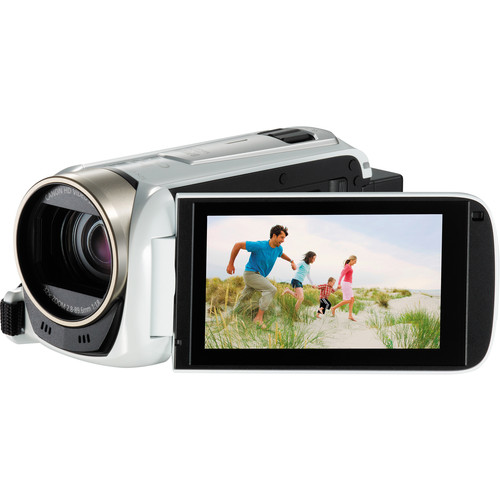 Canon LEGRIA HF R506 Full HD Camcorder (PAL, White)