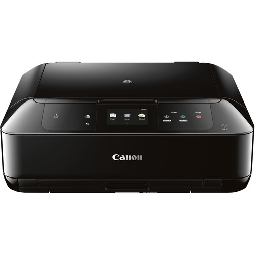 Canon PIXMA MG7720 Wireless All-in-One Inkjet Printer with 4-Cartridge Ink Set Kit (Black)