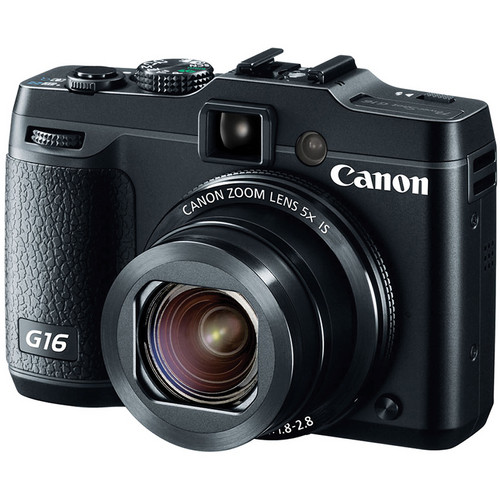 Canon PowerShot G16 Point-and-Shoot Camera Deluxe Kit