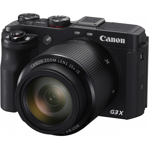 Canon PowerShot G3 X Digital Camera Deluxe Kit