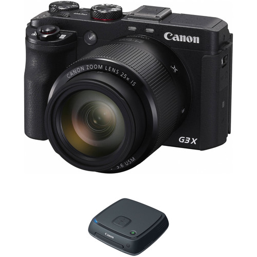 Canon PowerShot G3 X Digital Camera with Connect Station CS100 Kit