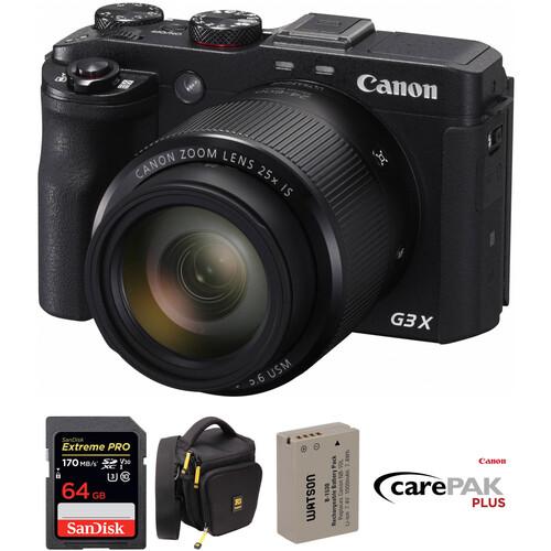 Canon PowerShot G3 X Digital Camera Deluxe Kit