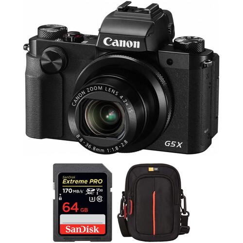 Canon PowerShot G5 X Digital Camera Free Accessory Kit