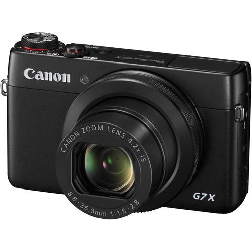 Canon PowerShot G7 X Digital Camera Deluxe Kit